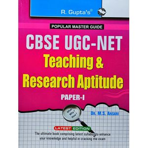 Cbse Ugc-Net Teaching & Research Aptitude Paper 1 By Dr M S Ansari-(English)