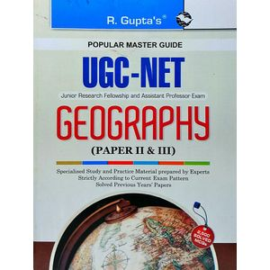 Ugc-Net Geography Paper 2 & 3 By Indra Kumar Lal-(English)