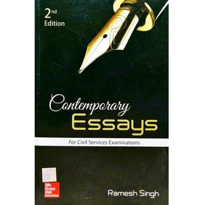 Contemporary Essays By Ramesh Singh-(English)