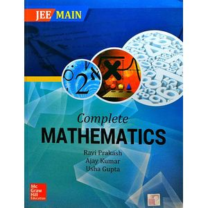 Jee Main Complete Mathematics By Ravi Prakash, Ajay Kumar, Usha Gupta-(English)