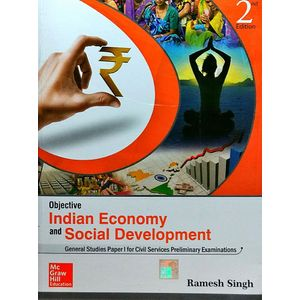 Objective Indian Economy And Social Development By Ramesh Singh-(English)