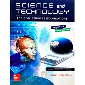 Science And Technology For Civil Services Examinations By Dr Ravi P Agrahari-(English)
