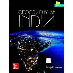 Geography Of India By Majid Husain-(English)