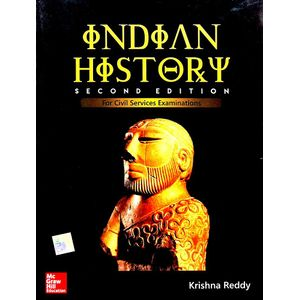 Indian History By Krishna K Reddy-(English)