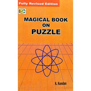 Magical Book On Puzzle By K Kundan-(English)