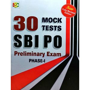 30 Monk Tests Sbi Po Preliminary Examination Phase 1 By K Kundan-(English)