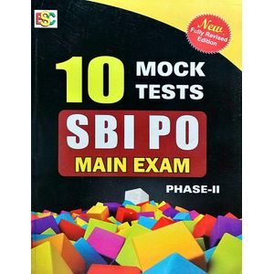10 Mock Tests Sbi Po Mains Exams Phase 2 By K Kundan-(English)