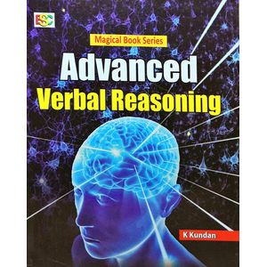 Advanced Verbal Reasoning By K Kundan-(English)