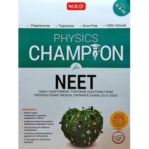 Physics Champion For Neet By Mtg Editorial Board-(English)