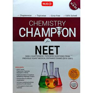 Chemistry Champion For Neet By Mtg Editorial Board-(English)
