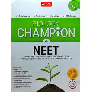Biology Champion For Neet By Mtg Editorial Board-(English)