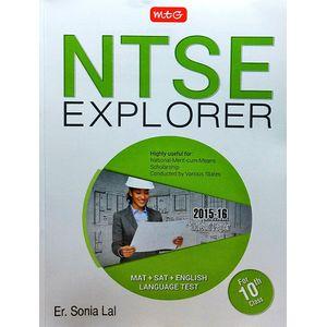 Ntse Explorer By Er Sonia Lal-(English)