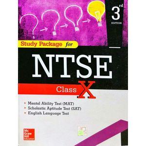 Study Package For Ntse For Class X By Mcgraw Hill Education-(English)