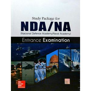 Study Package For Nda Entrance Examination By Mcgraw Hill Education-(English)