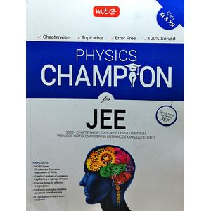 Physics Champion For Jee By Mtg Editorial Board-(English)