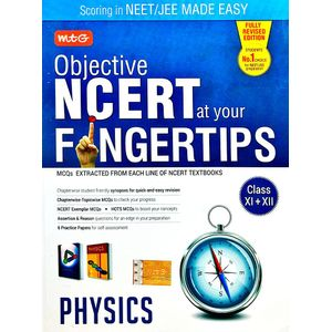 Objective Ncert At Your Fingertips For Neet Aiims Physics By Mtg Editorial Board-(English)