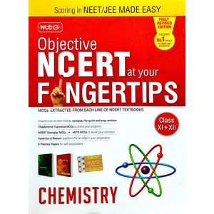 Objective Ncert At Your Fingertips For Neet Jee Made Easy Chemistry By Mtg Editorial Board-(English)