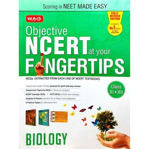 Objective Ncert At Your Fingertips Biology By Mtg Editorial Board-(English)