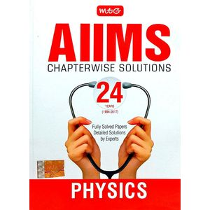 24 Years Aiims Chapterwise Solutions Physics By Mtg Editorial Board-(English)