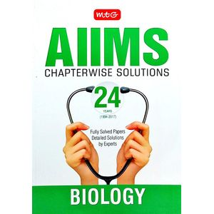 24 Years Aiims Chapterwise Solutions Biology By Mtg Editorial Board-(English)