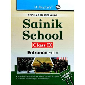 Sainik School Entrance Exam Guide For Class 9 By Deepak Kumar-(English)