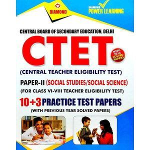 Ctet Paper 2 Social Studies Social Science Class 5 To 8 Practice Test Papers 13 And Previous Year Solved Paper By Editorial Team-(English)