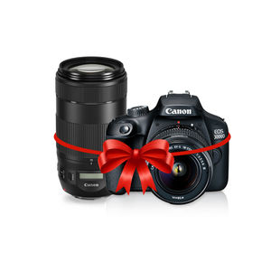 Canon EOS 1200D DSLR Camera Kit with EF-S 18-55mm and 55-250mm Lenses