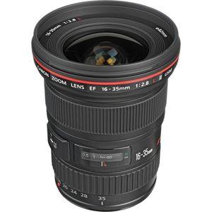 Canon EF 16 - 35mm f/2.8L II USM Lens (Black, Ultra Wide Angle Lens)