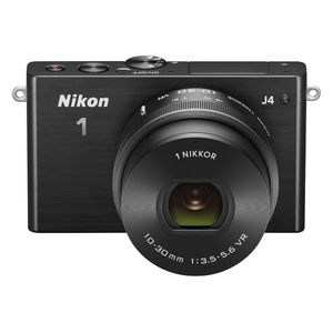 Nikon 1 J4 Digital Camera with 1 NIKKOR 10-30mm f/3.5-5.6 PD Zoom Lens (Black)
