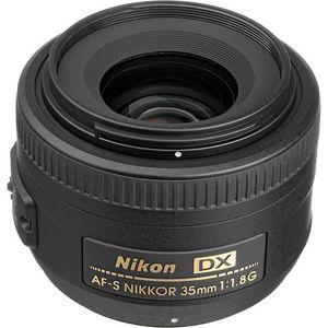 Nikon AF-S DX NIKKOR 35mm f/1.8G Lens (Standard Lens)