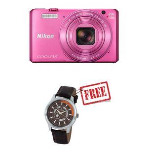 Nikon Coolpix S7000 Digital Camera Pink
