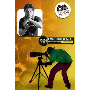 Advanced Photography Workshop with Photowalk - New Delhi (CP)  19Apr'15, 12-5pm