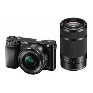 Sony ILCE-6000Y 16-50 + 55-210mm Kit Black