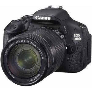 Canon EOS 600D(18-135mmIS)18MP