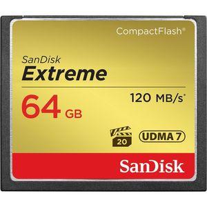 SanDisk 64 GB Extreme CompactFlash Memory Card