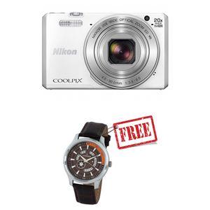 Nikon Coolpix S7000 Digital Camera White
