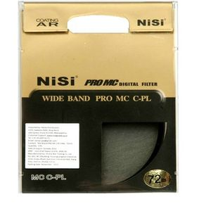 Nisi 72 mm Circular Polarizer Polarizing Filter