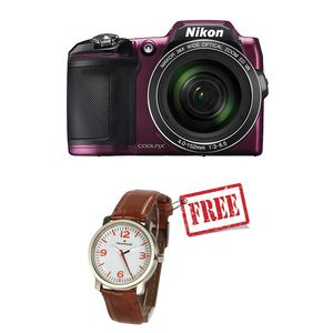 Nikon COOLPIX L840 Digital Camera (Purple)