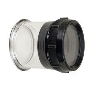 Flat Port for Nikon 105mm Macro f/2.8G ED-IF AF-S VR Lens in SLR Housing