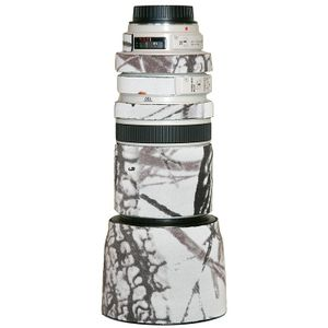 LensCoat Lens Cover for Canon 100-400mm f/4-5.6 Lens (Realtree AP Snow)