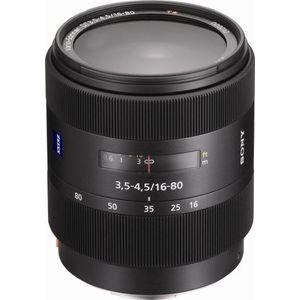 Sony 16-80mm f/3.5-4.5 Carl Zeiss Vario-Sonnar T* DT Standard Zoom Lens