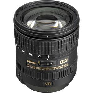 Nikon AF-S DX NIKKOR 16-85mm f/3.5-5.6G ED VR Lens