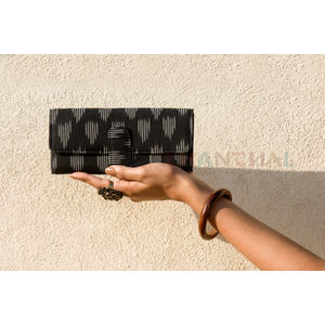 Black and White Small Clutch