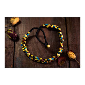 Hand-crafted Dokra-Beaded Neckpiece