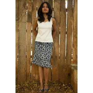 Short Bagru Skirt