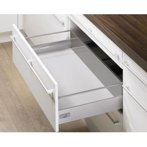 Hettich Tandem Box Pot and Pan with railing 144 mm 30 kg 420 mm Innotech