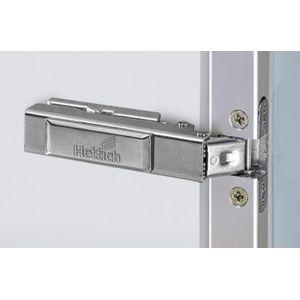 Hettich intermat 9936 Aluminium profile hinge Crank 0