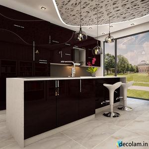 Rehau   Marrone 1679L   1MM   Kitchen