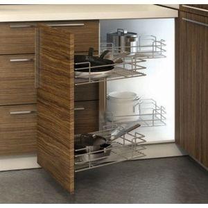 Hettich Moving Corner for bling Corner cabinet 900/1000 mm Left Mechanism
