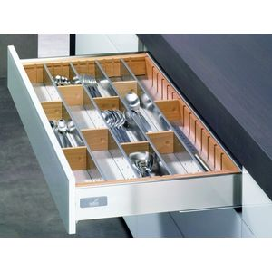 FGV | Drawer Without Railing Grey 450 MM
